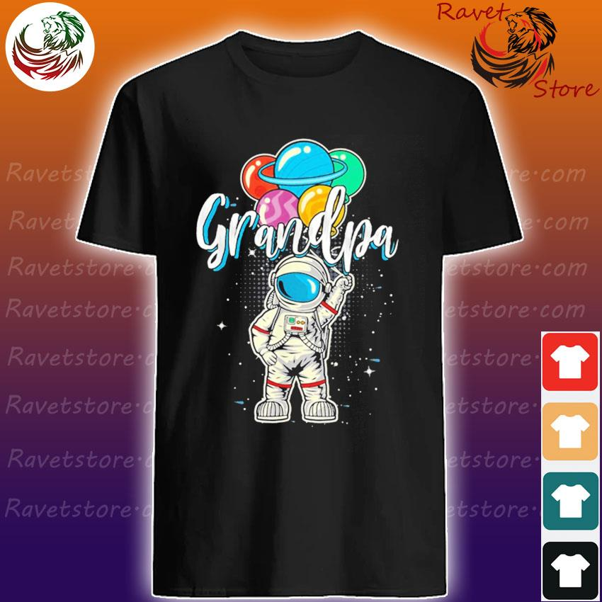 Grandpa Astronaut in Space shirt