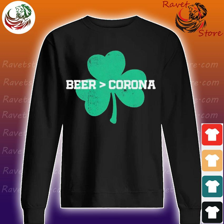Beer Corona Saint Patrick's Day s Sweatshirt