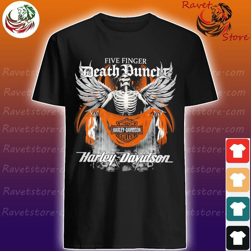 Five Finger Death Duncle Motor Harley Davidson Cycles 2021 shirt