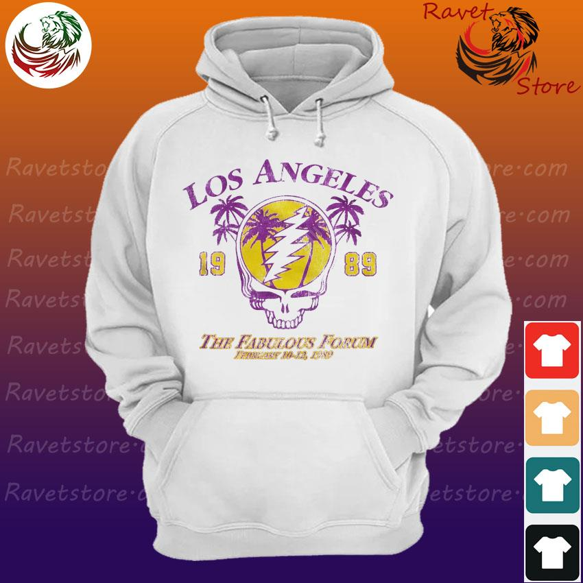Official Grateful Dead Los Angeles 1989 The Fabulous Forum February 10-12 1989 Hoodie