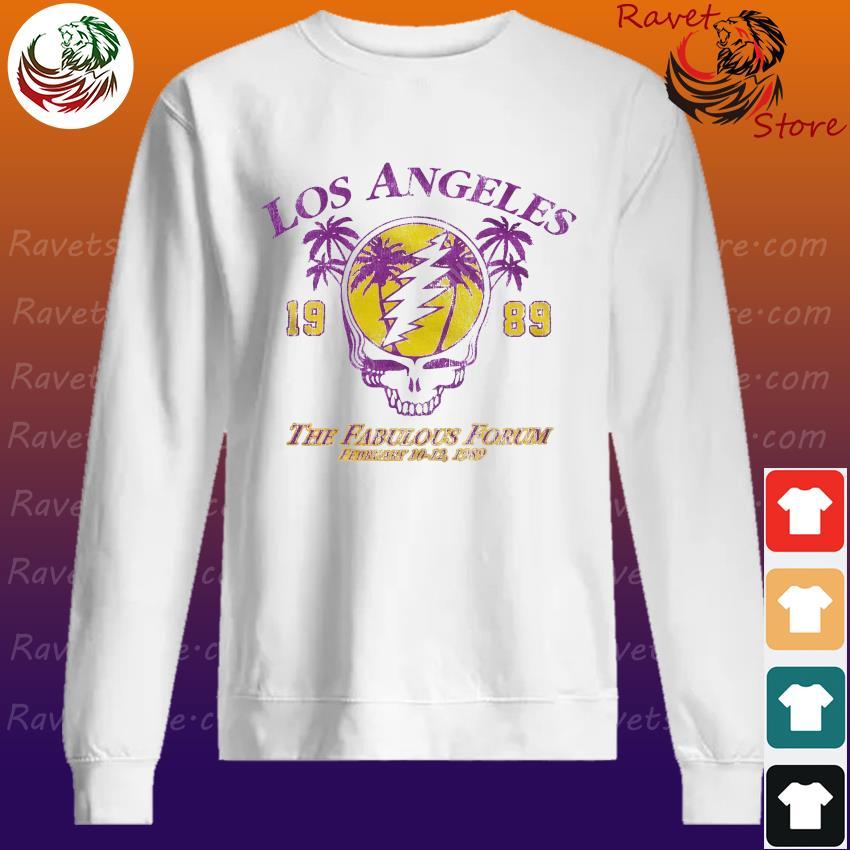 Official Grateful Dead Los Angeles 1989 The Fabulous Forum February 10-12 1989 Sweatshirt
