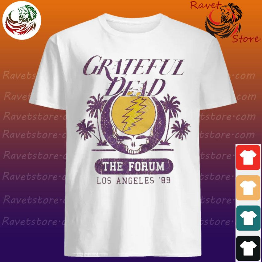 Official Grateful Dead The Forum Los Angeles 89 shirt