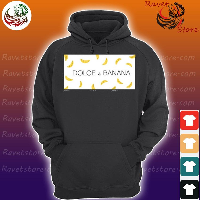 Dolce and banana funny graphic design Hoodie