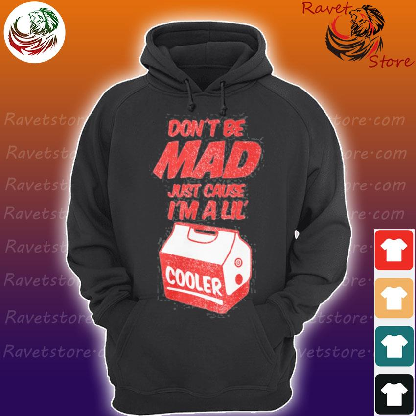 Don't be mad just cause I'm a little cooler Hoodie