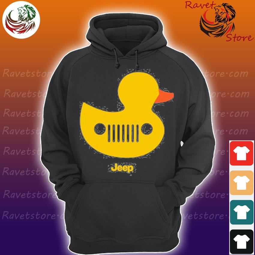 Duck duck jeep grille Hoodie