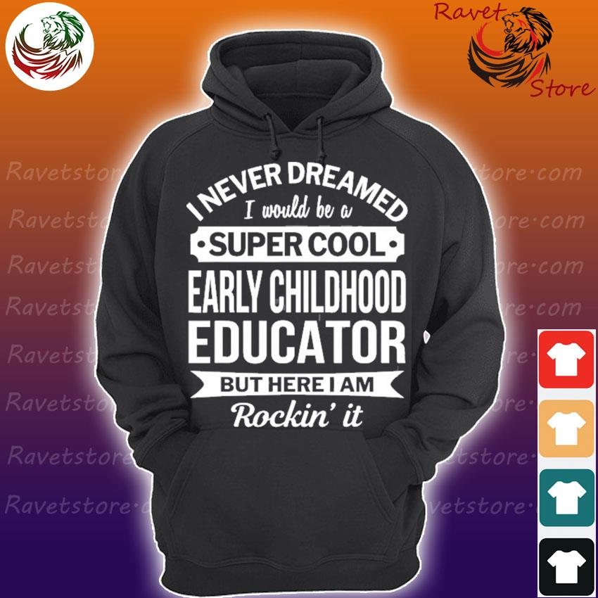 Early childhood educator gifts funny Hoodie