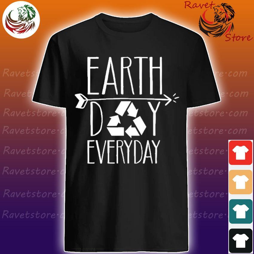 Earth day everyday 51th anniversary cute recycling teacher shirt