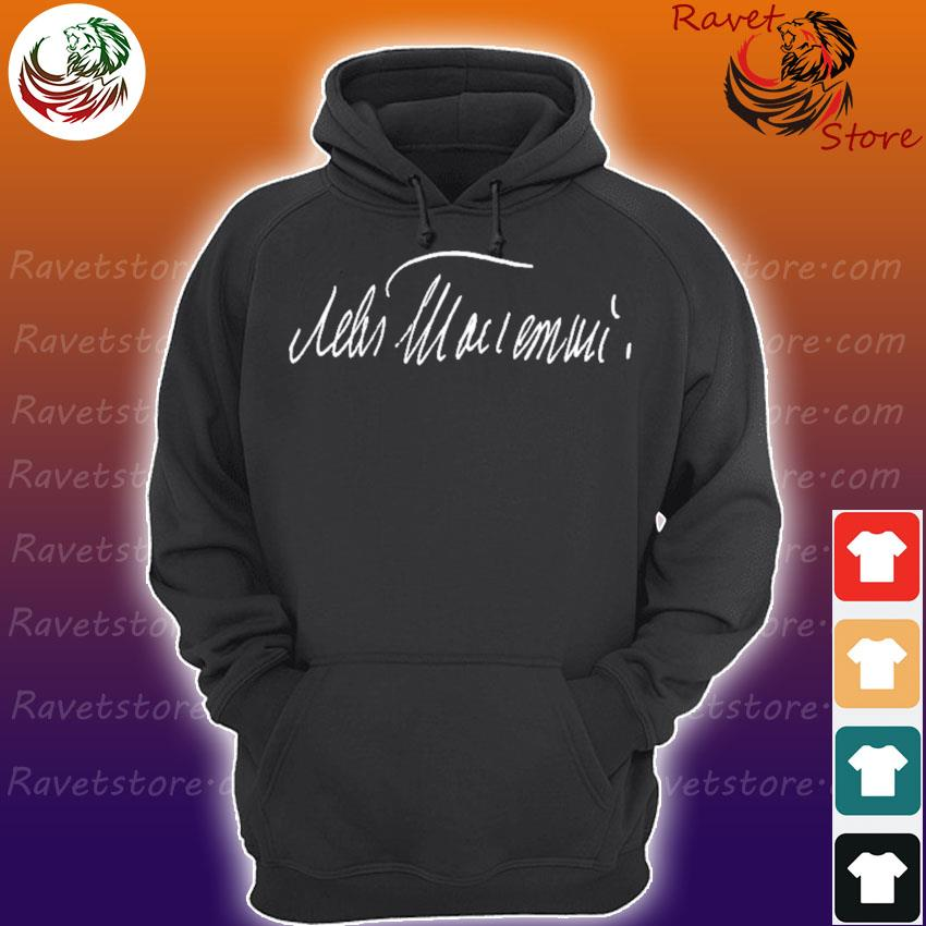 Leo tolstoy autograph russian writer signature Hoodie