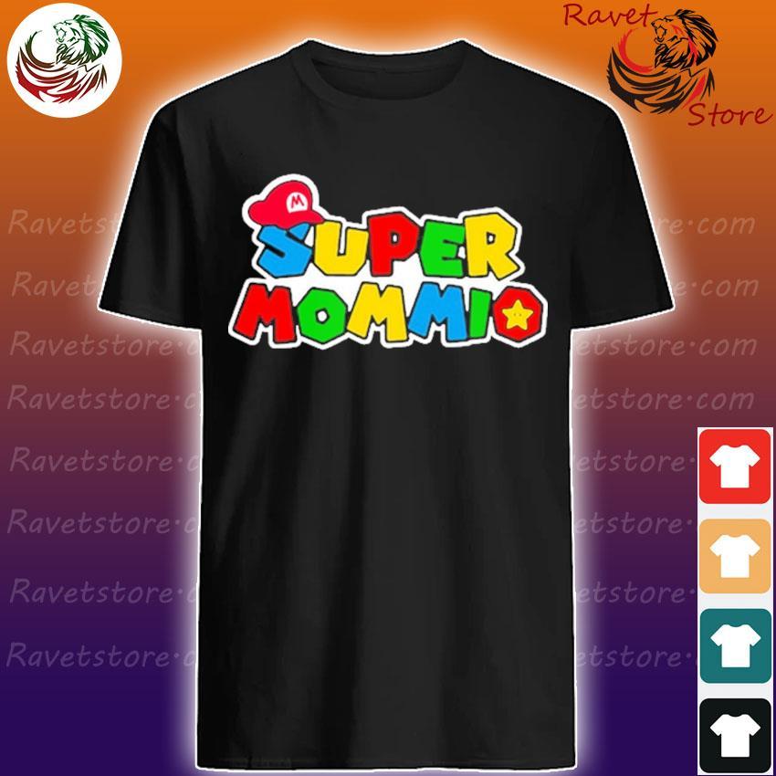 Official Super Mario Super Mommio 2021 shirt
