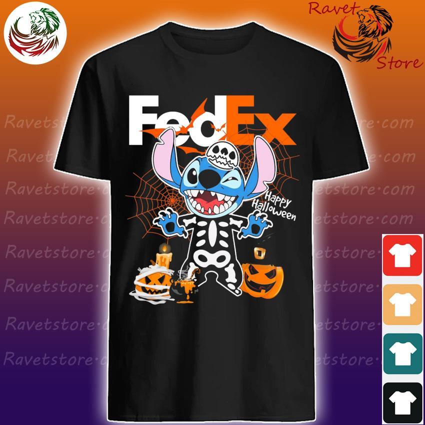 Baby Sitch Skeleton Pumpkin Witch Fedex Shirt