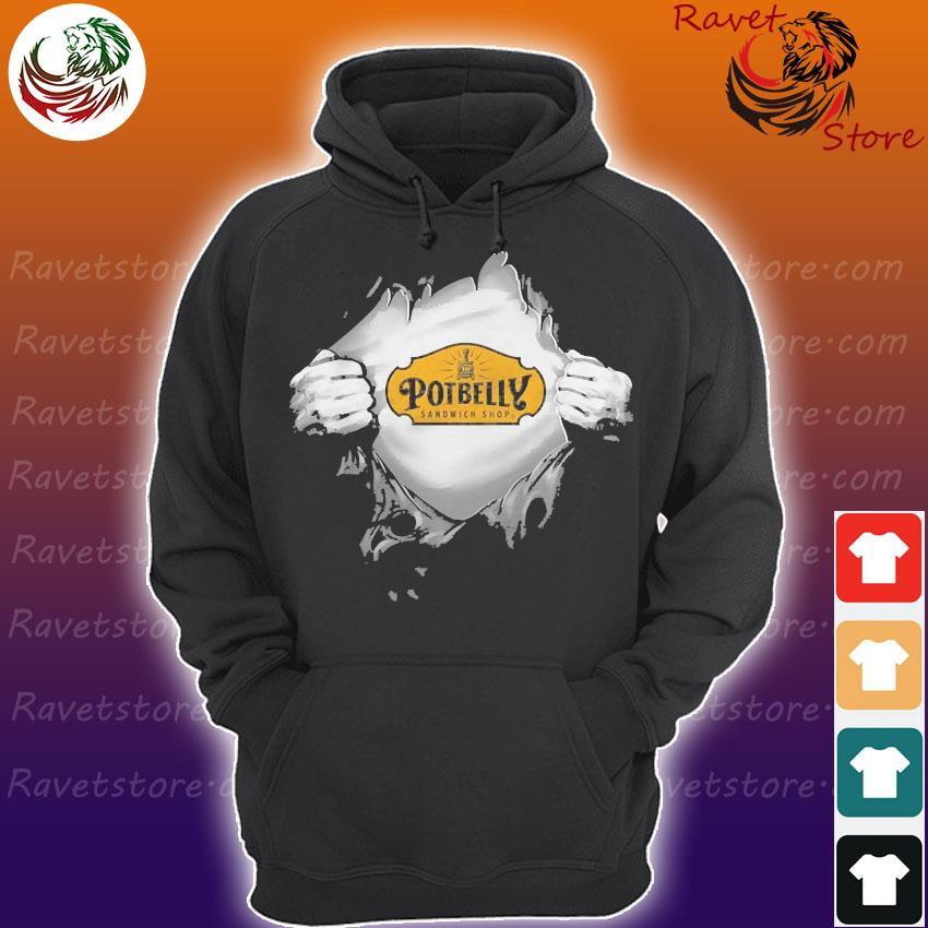 Blood in side me Potbelly s Hoodie