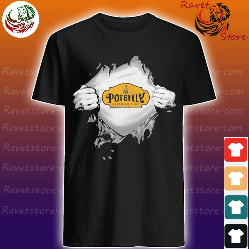 Blood in side me Potbelly shirt