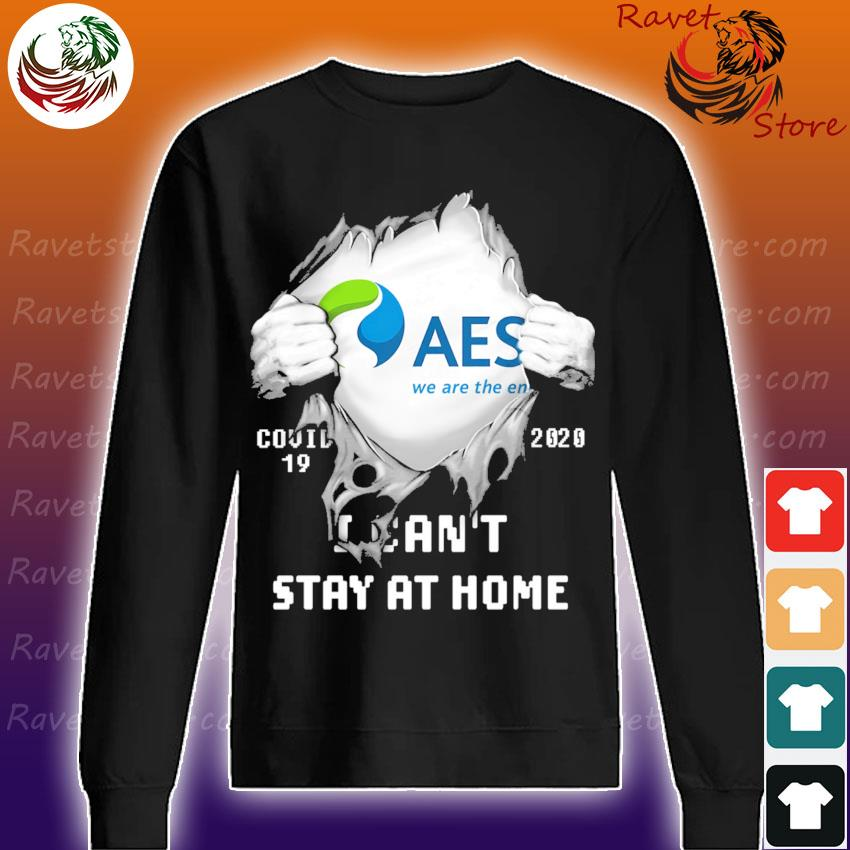 Blood inside Me The AES Corporation Covid 19 2020 I can't stay at home s Sweatshirt