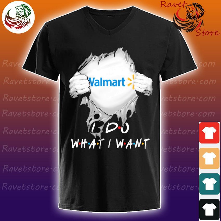 Blood inside Me Walmart I do what I want s V-Neck