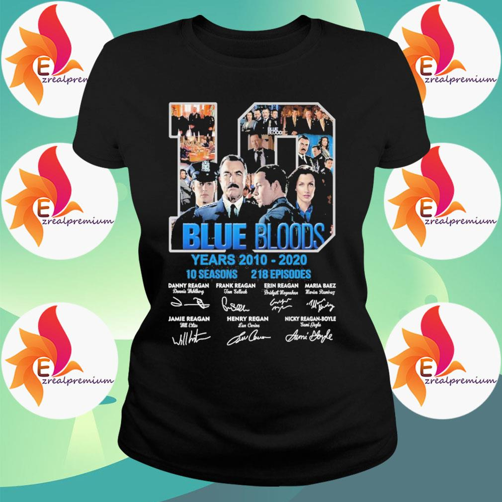 10 Blue Bloods years 2010-2020 10seasons 218 Episodes signatures s Ladytee