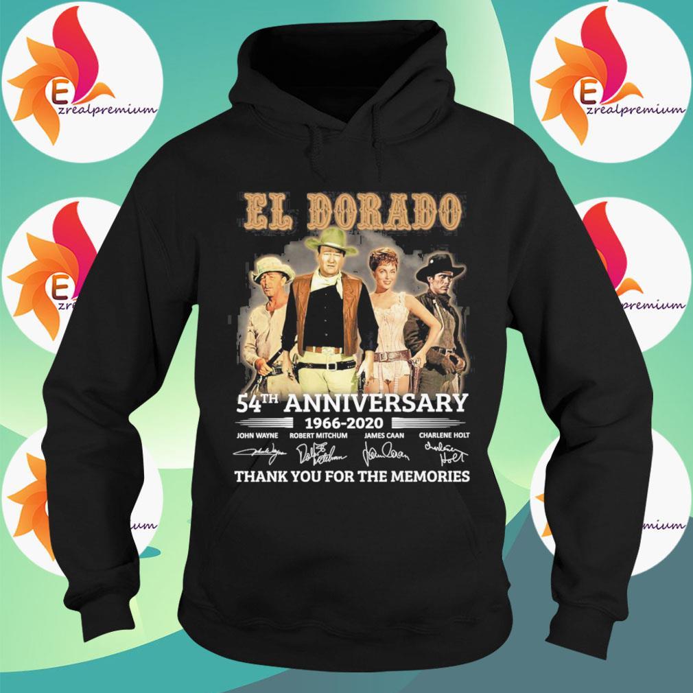 El Dorado 54th anniversary 1966 2020 thank you for the memories signatures s Hoodie