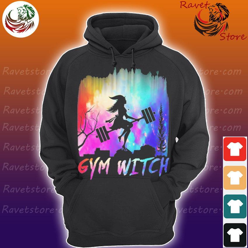 Gym witch UFO s Hoodie
