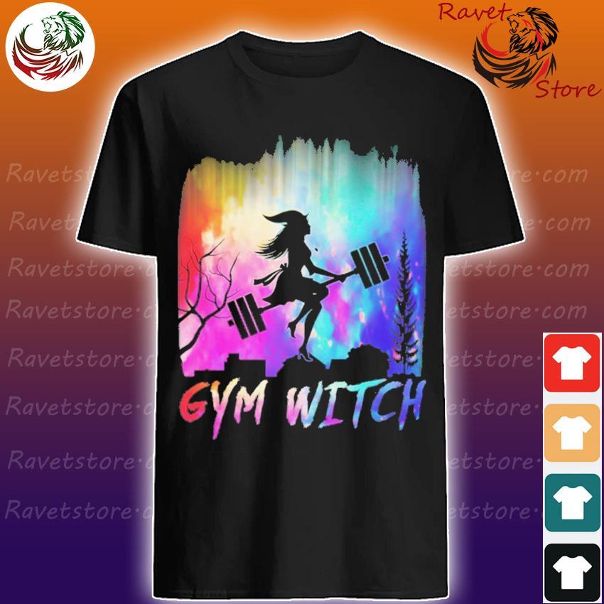 Gym witch UFO shirt