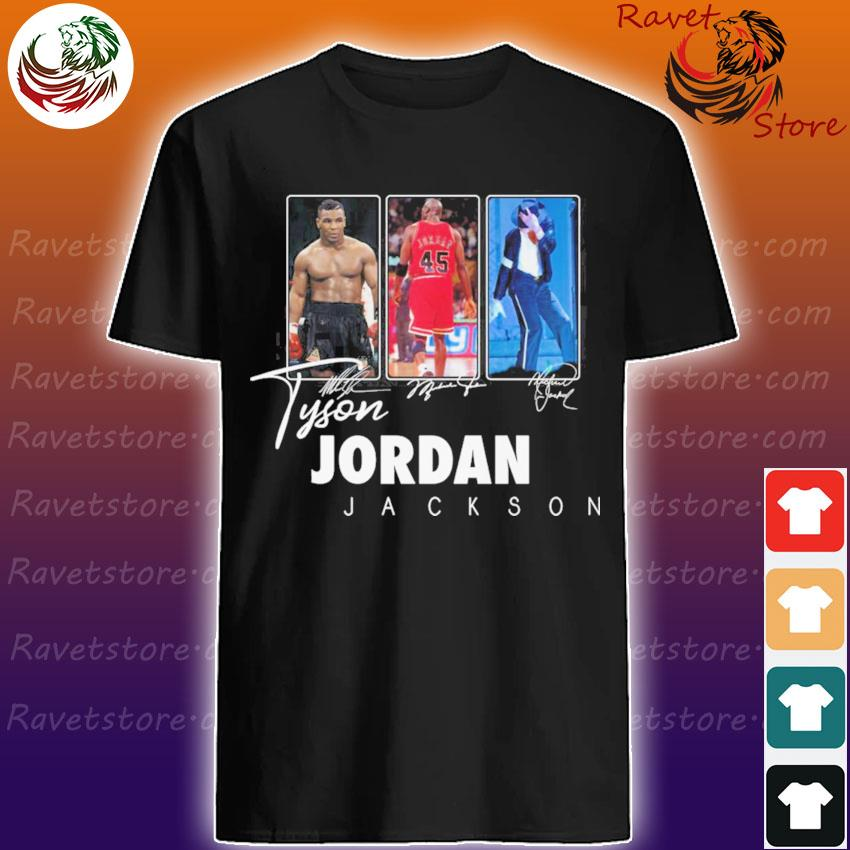 Official Tyson Fury Kobe Jordan Jackson signatures shirt