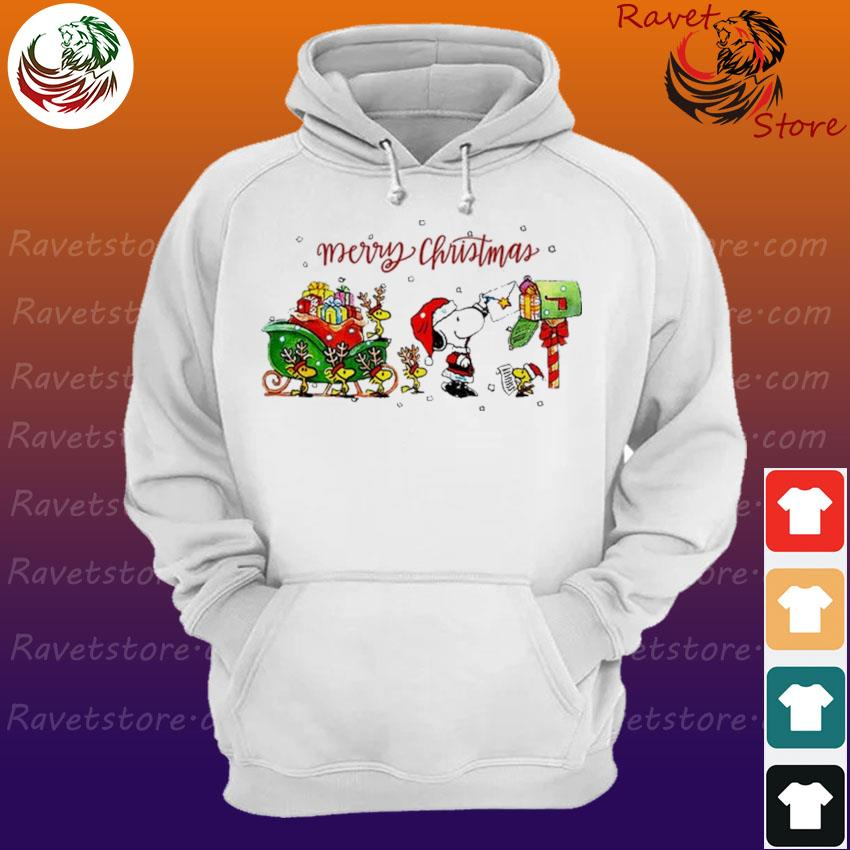Snoopy and Woodstock Merry Christmas s Hoodie