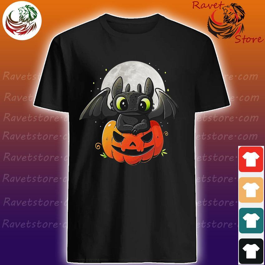 Baby Toothless pumpkin Halloween shirt