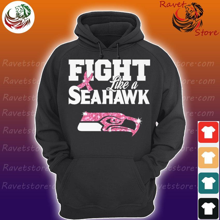 Fight like a Seattle Seahawk Diamond s Hoodie
