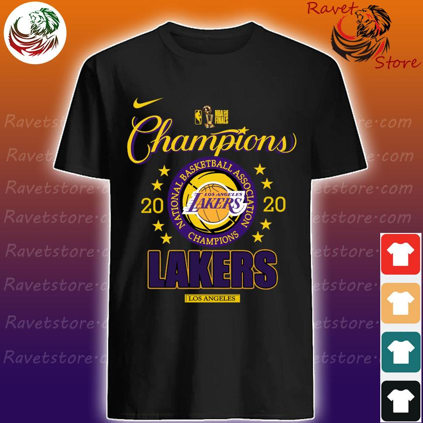 Los Angeles Lakers 2020 NBA Champions Locker Room Long Sleeve shirt
