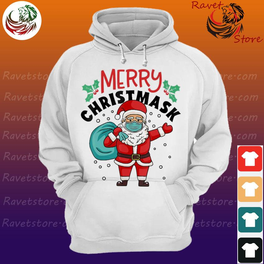 Official Santa Claus face mask Merry Christmas s Hoodie