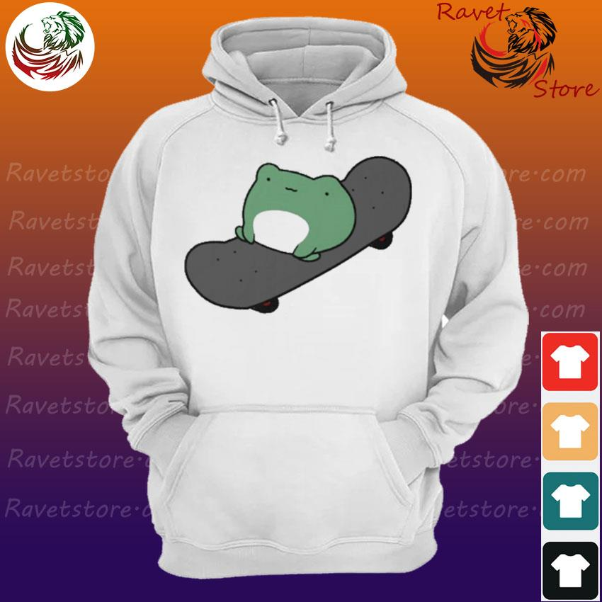 Official Skateboarding Frog Essential s Hoodie