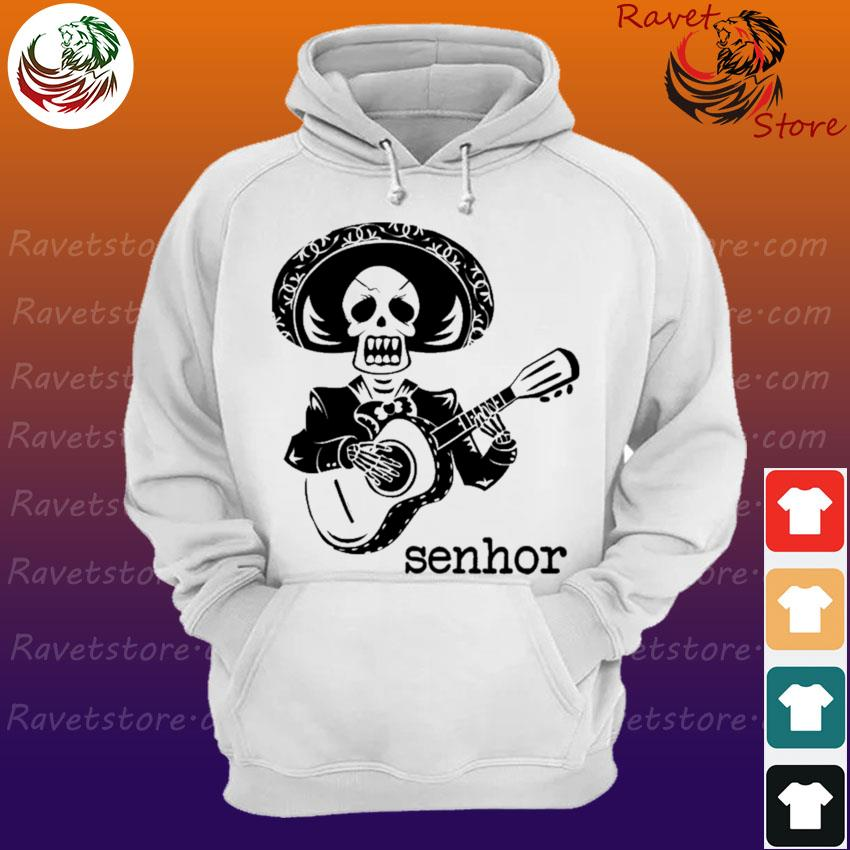 Official Skeleton Mariachi Guitar Senhor s Hoodie