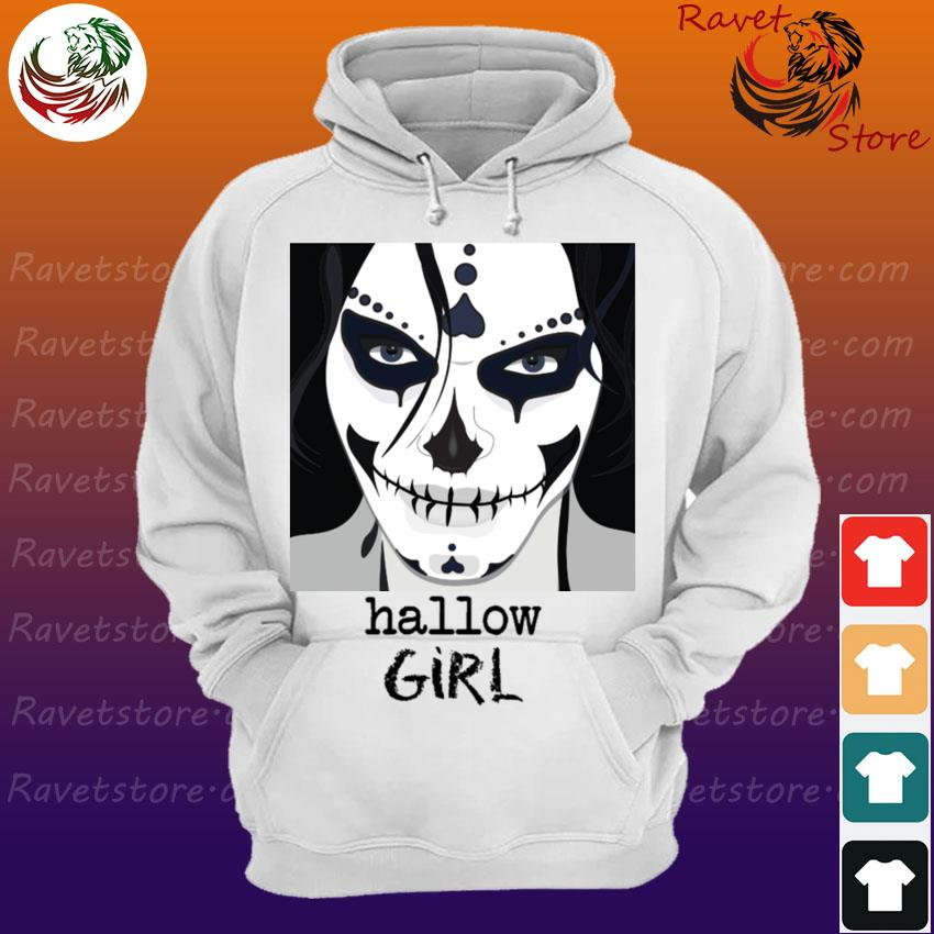 Official Sugar Skull Hallow Girl Halloween s Hoodie