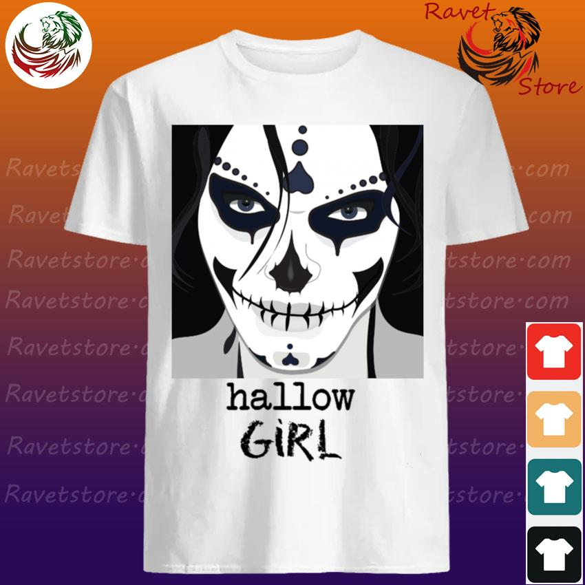 Official Sugar Skull Hallow Girl Halloween shirt