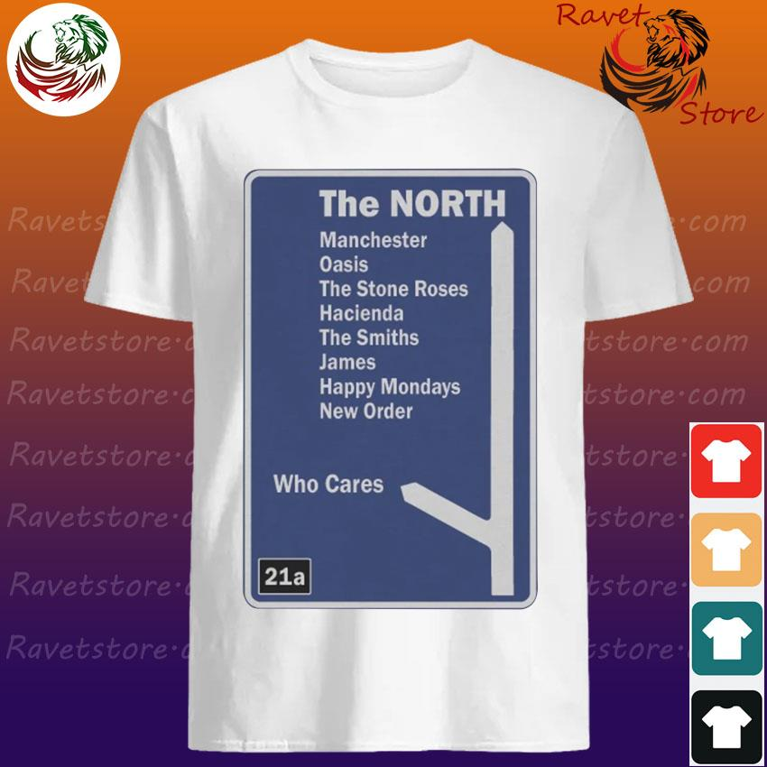 Official The North Manchester Music Motorway Sign shirt