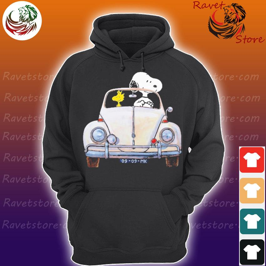 Snoopy and Woodstock 09 09 MK funny s Hoodie