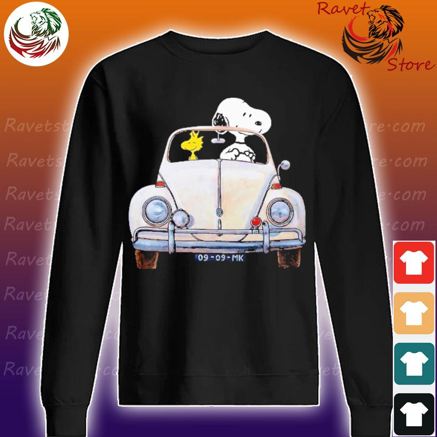 Snoopy and Woodstock 09 09 MK funny s Sweatshirt