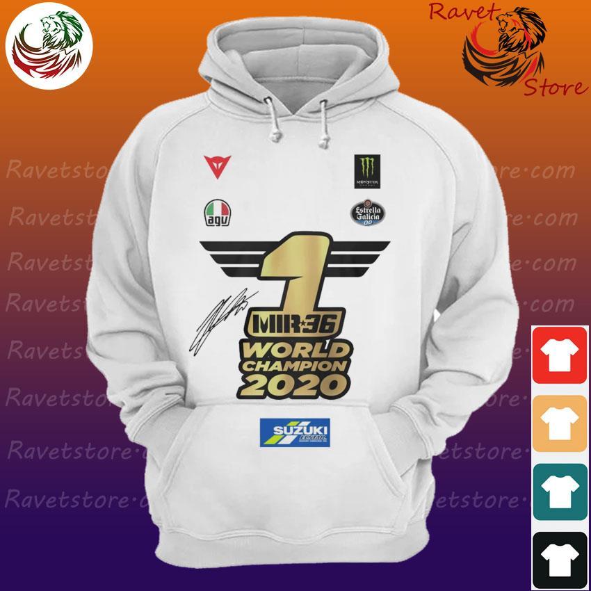 Joan Mir Mir 36 World Champion 2020 signature s Hoodie
