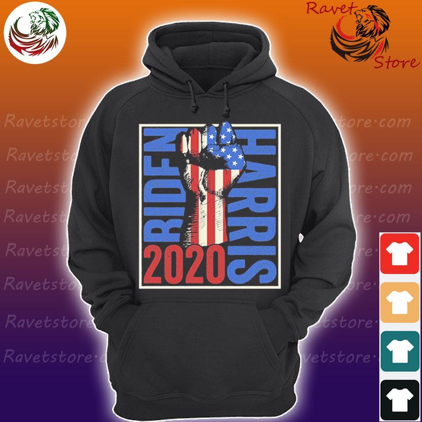 Joe Biden Kamala Harris 2020 – USA Flag Resist Fist s Hoodie
