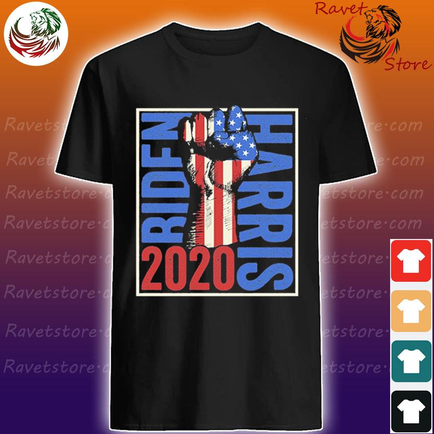 Joe Biden Kamala Harris 2020 – USA Flag Resist Fist shirt