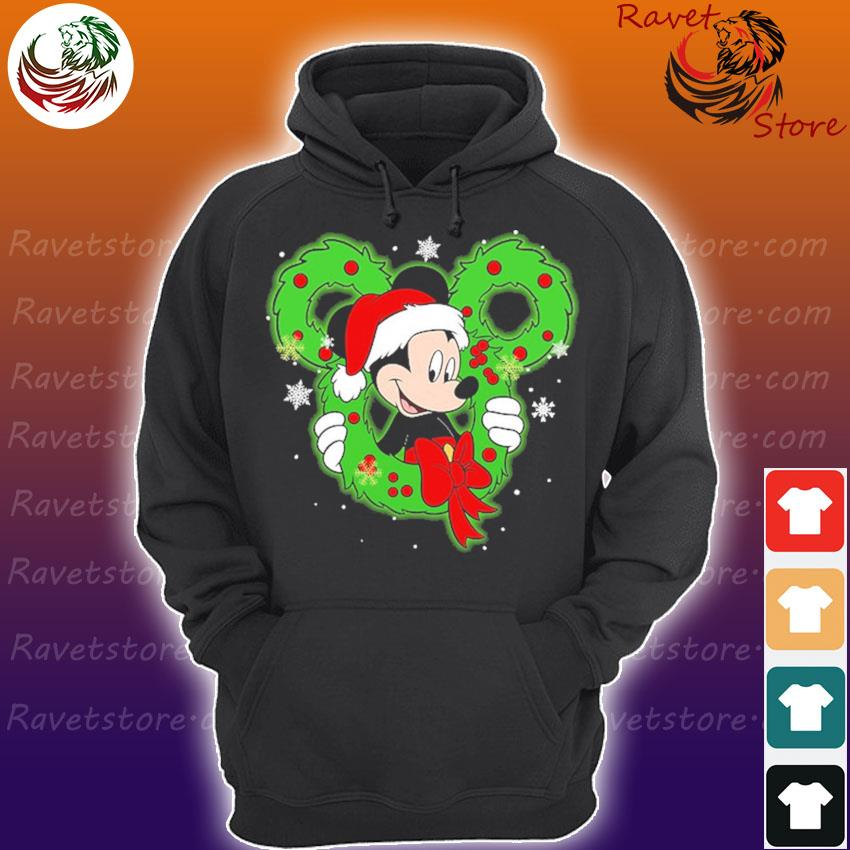 Mickey mouse Santa Merry Christmas s Hoodie