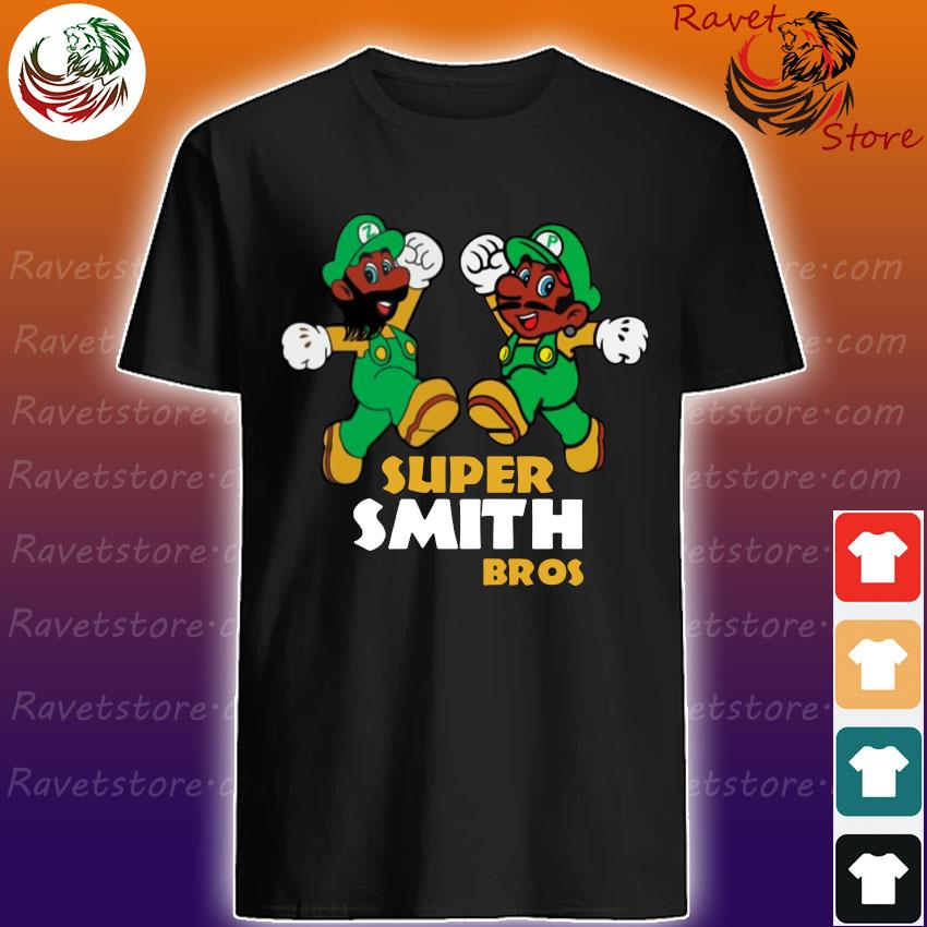Official Super Mario Super smith bros shirt