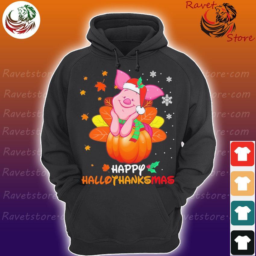 Piglet Santa Happy Hallothanksmas s Hoodie