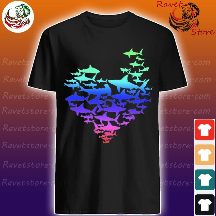 Pride Love Sharks shirt