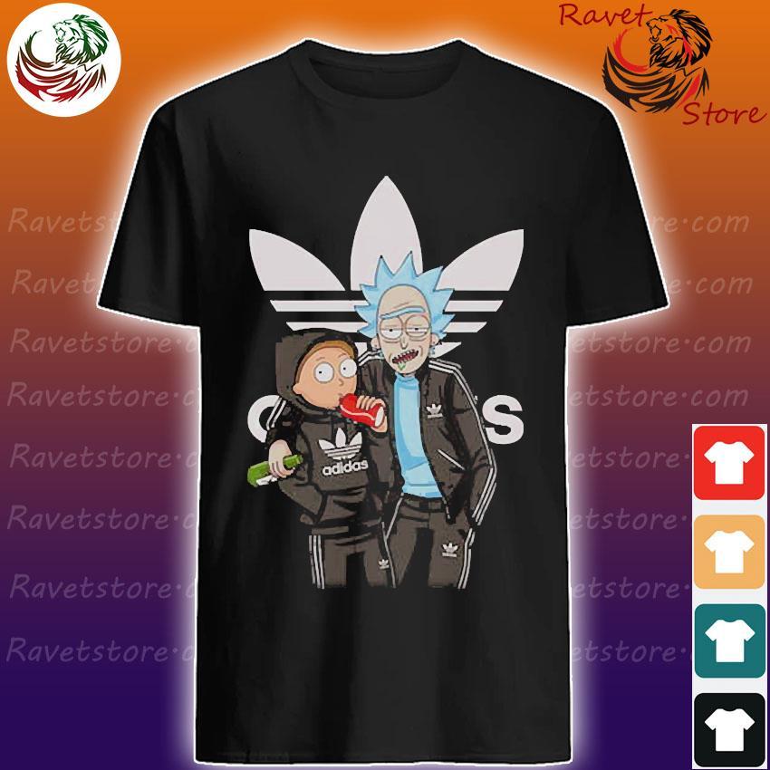 Rick and Morty Adidas shirt