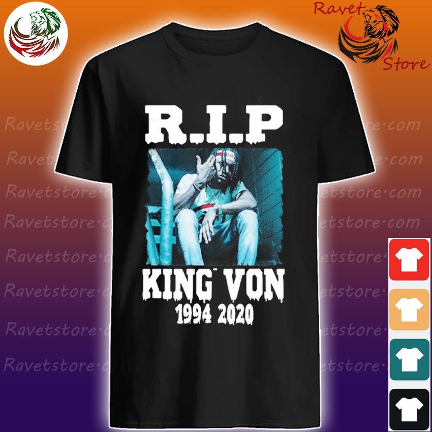 Rip King Von 1994-2020 shirt