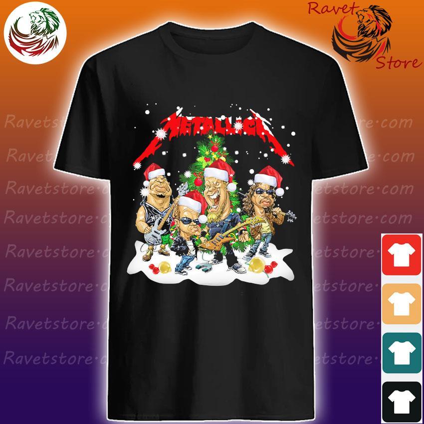 Santa Metallica Christmas 2020 shirt