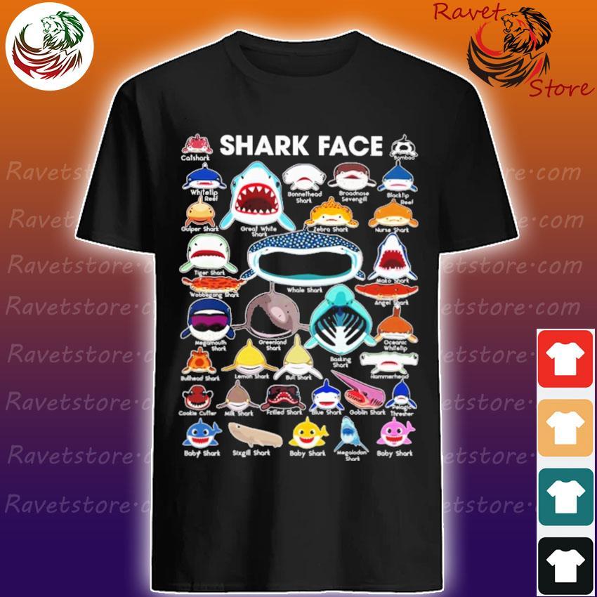 Shark faces catshark whale shark shirt