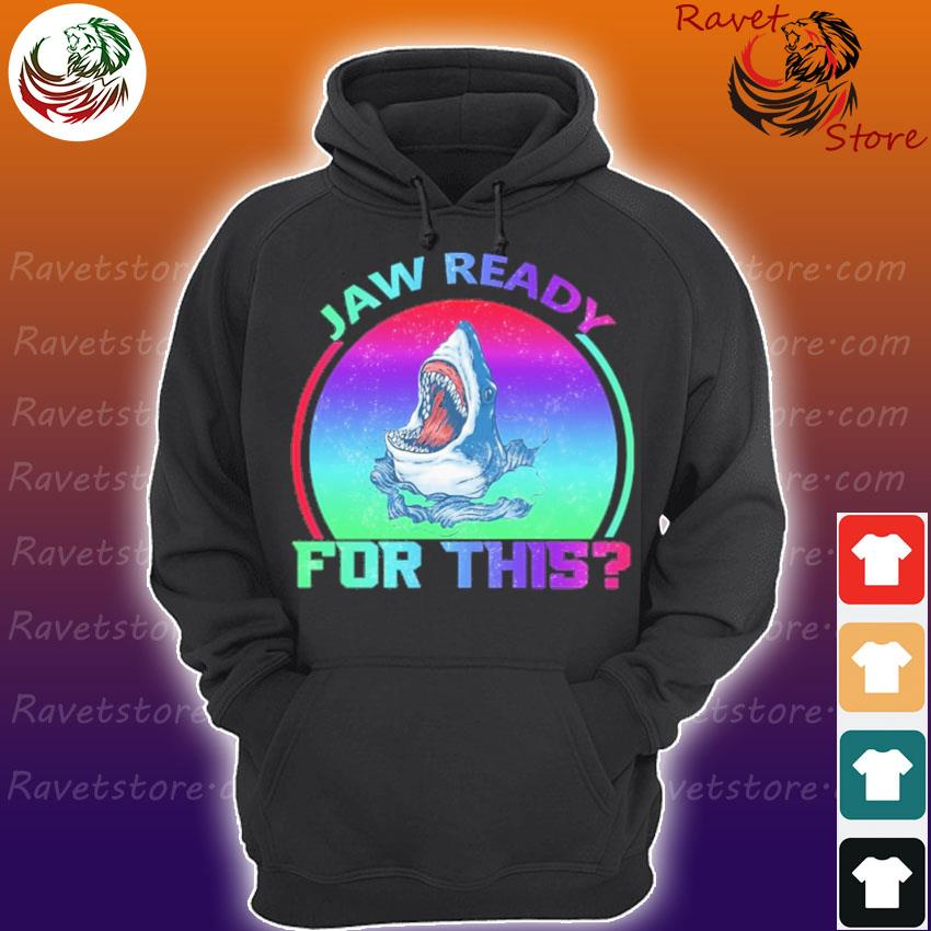 Shark Jaw ready for this pride s Hoodie