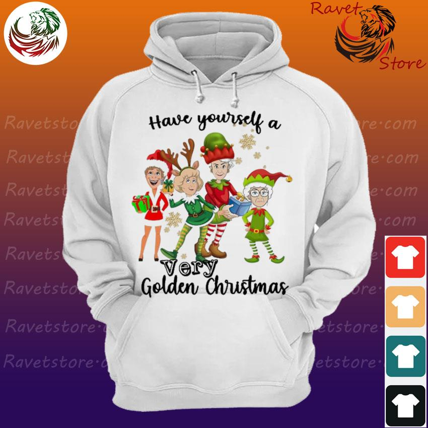 The Golden Girls Have yourself a very Golden Christmas Shirt Hoodie