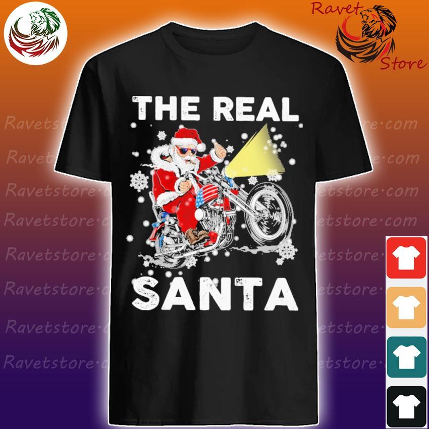 The real Santa Christmas sweatshirt
