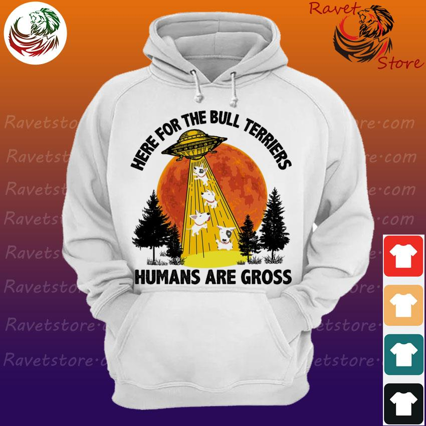 Ufo Here for the Bull Terriers humans are Gross s Hoodie